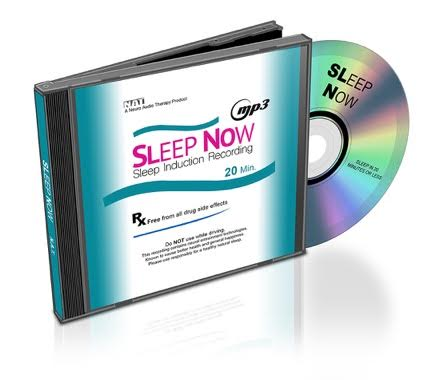 Sleep Now Cover CD